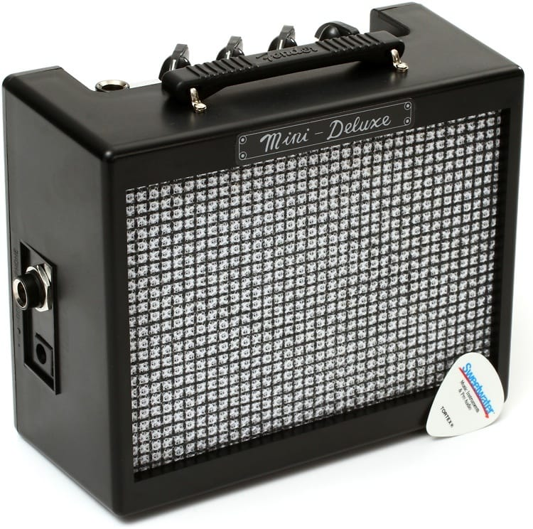 fender mini deluxe 2 watt 1x2 mini combo amp gearnuts reverb. Black Bedroom Furniture Sets. Home Design Ideas