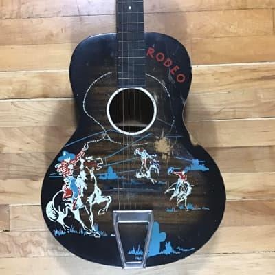 Carmencita Stencil Guitar