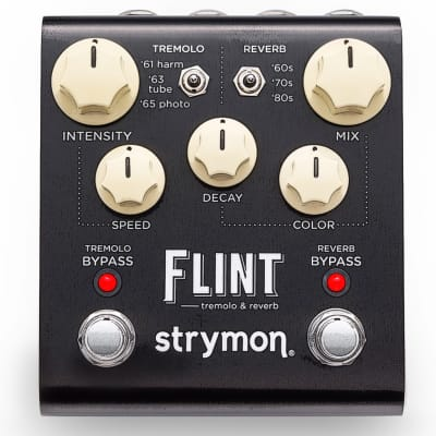 Strymon Flint Tremolo Reverb Effects Pedal