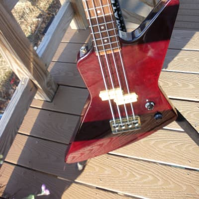 arbor explorer bass early 80's red wine for sale