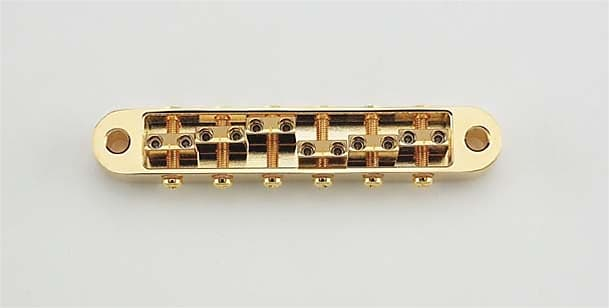 GOLD NEW Gotoh 510BN Tunematic Bridge With Height Adjustable Saddles
