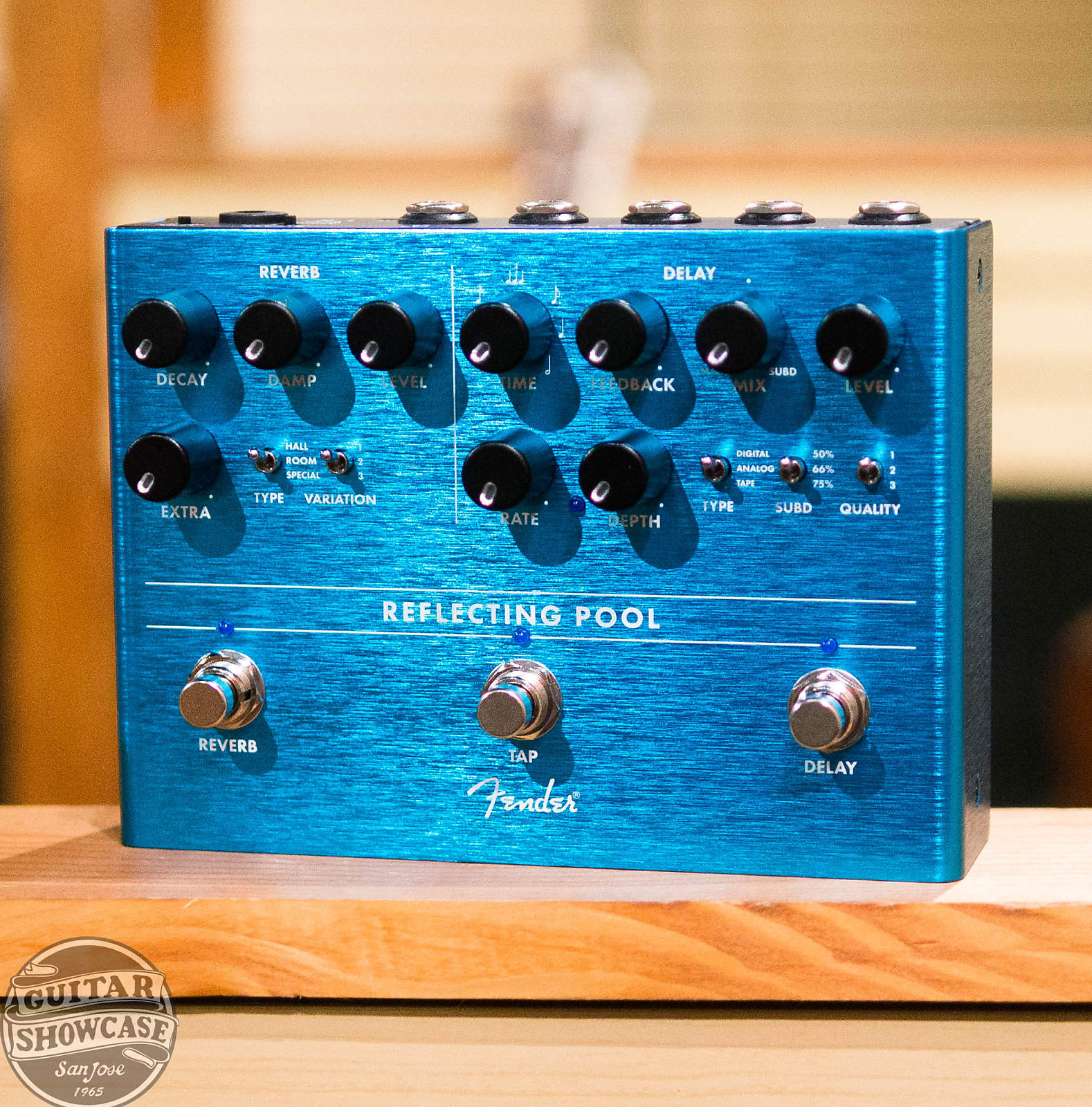 Fender Reflecting Pool Delay & Reverb Pedal