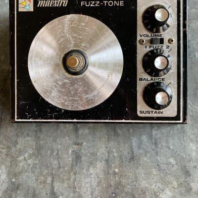 Maestro Fz-1s Fuzz Tone.  70's for sale