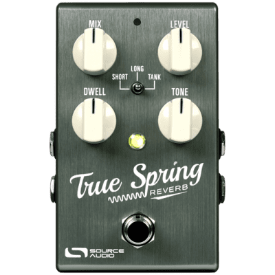 Source Audio True Spring Reverb and Tremelo SA247 - The Pedal Store!