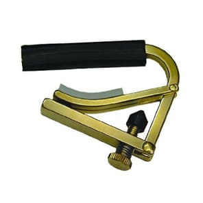 Shubb Ukulele Capo | Brass for sale