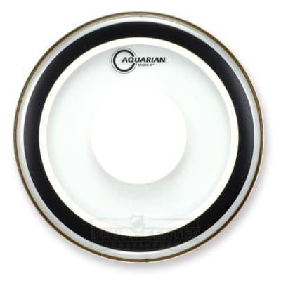 Aquarian Texture Coated Studio-X Power Dot Drumhead 12