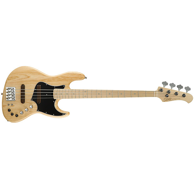 xotic xj 1t 4 string bass guitar maple fretboard natural reverb. Black Bedroom Furniture Sets. Home Design Ideas