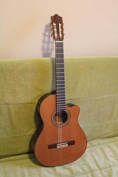 jose ramirez 2cwe nylon string crossover guitar mint reverb. Black Bedroom Furniture Sets. Home Design Ideas
