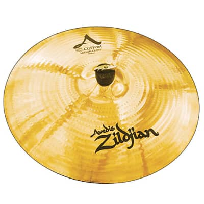 "Zildjian A Custom 17"" Medium Crash Cymbal"