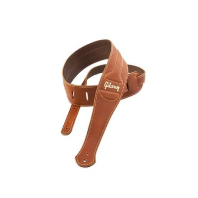 Gibson Gear The Classic Guitar Strap (Brown) for sale
