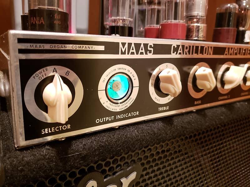 Maas Rowe Model 500 Carillon Amplifier 1950s-1960s