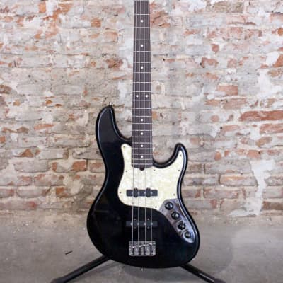 Fender American Deluxe Jazz Bass 1998 Black for sale