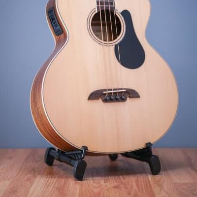 Alvarez AB60CE Artist Bass w/Cutaway EQ & Tuner for sale