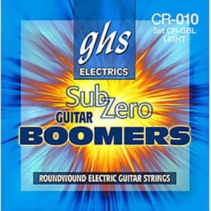 GHS CR-GBCL Sub Zero Boomers Custom Light Electric Guitar Strings (9-46)