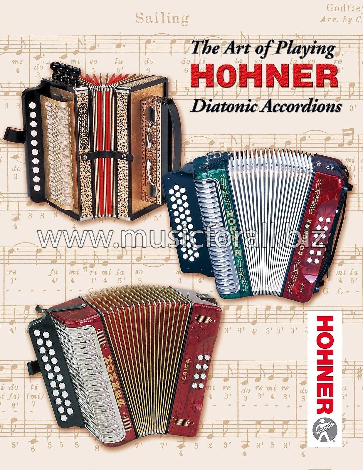 Hohner Compadre GCF Black  Accordion SOL Acordeon +Bag_Pad_DVD_Shirt NEW Authorized Dealer