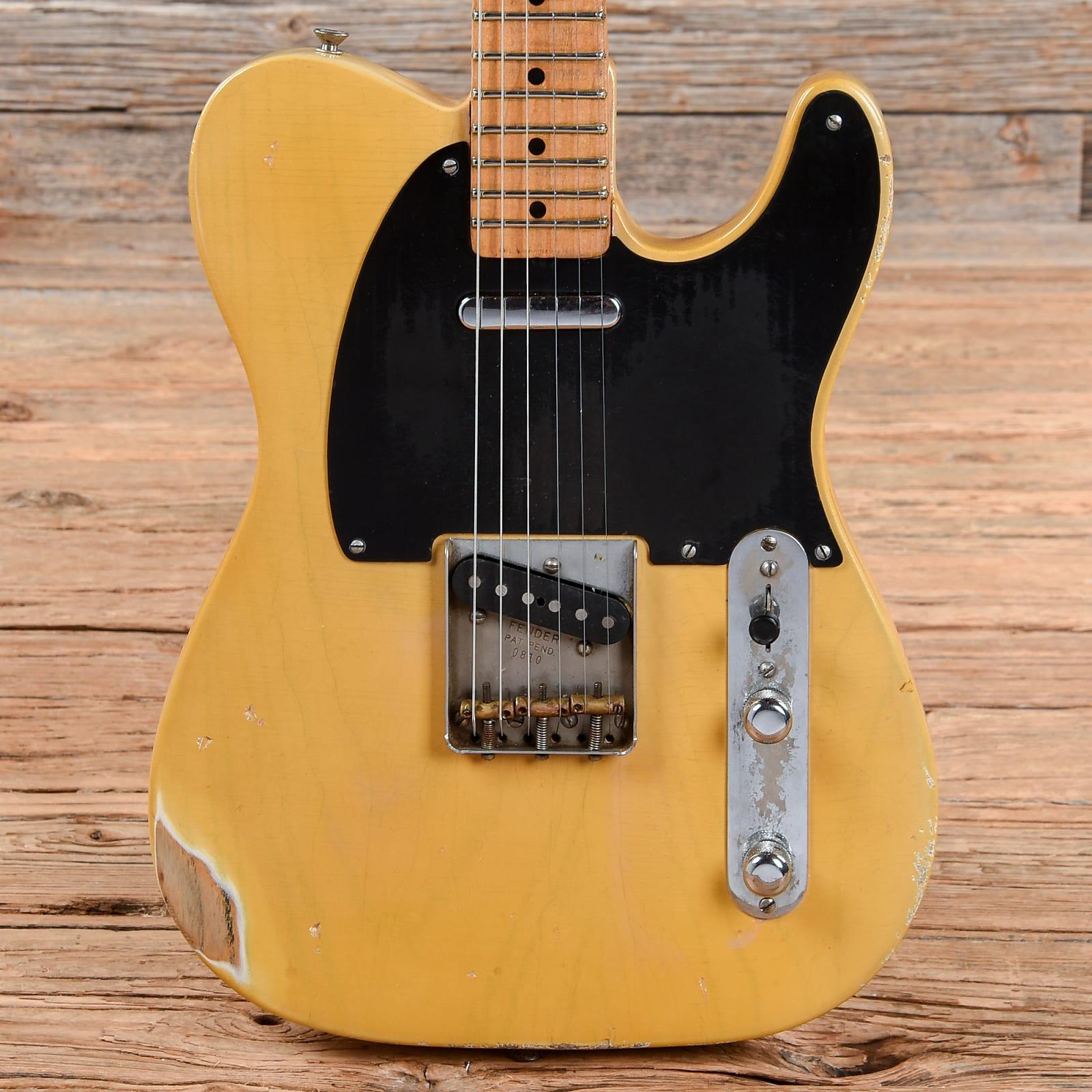 Fender Telecaster Blonde Refin 1951