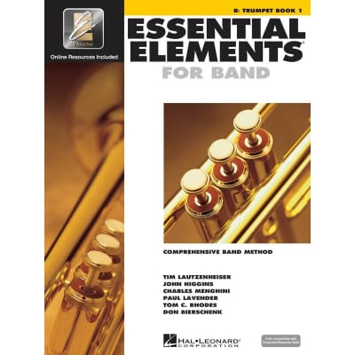 Essential Elements for Band - B-Flat Trumpet | Book 1 (w/ EEi)
