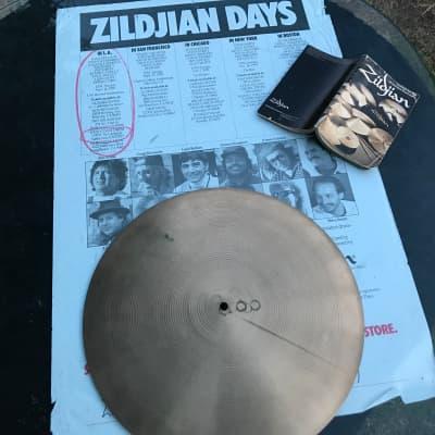 Zildjian  18'' Flat Ride  1970 Traditional