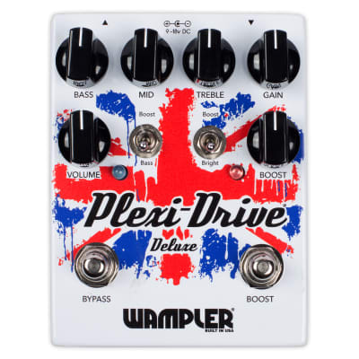 New Wampler Plexi Drive Deluxe Overdrive Guitar Effects Pedal!