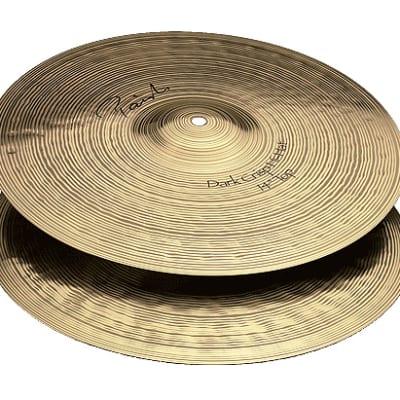 """Paiste 13"""" Signature Dark Crisp Hi-Hat Cymbals (Pair) Traditional"""