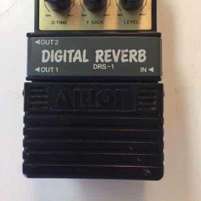 Arion DRS-1 Stereo Digital Reverb Rare Vintage Guitar Effect Pedal MIJ Japan for sale