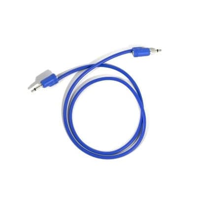 "Tiptop Audio Stackcable 70cm / 29.5"" Blue"