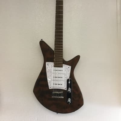 2015 Malinoski Rocket Guitar Natural for sale