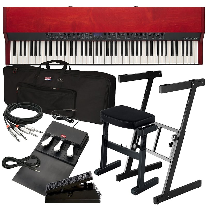 nord grand stage piano stage essentials bundle reverb. Black Bedroom Furniture Sets. Home Design Ideas