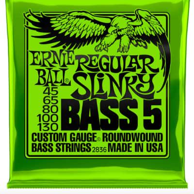 Ernie Ball Regular Slinky 5-String Bass Nickel Wound 2836