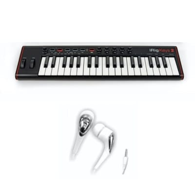 IK Multimedia iRig Keys Mini 25-Key Mobile MIDI Keyboard Controller w/ Lightning