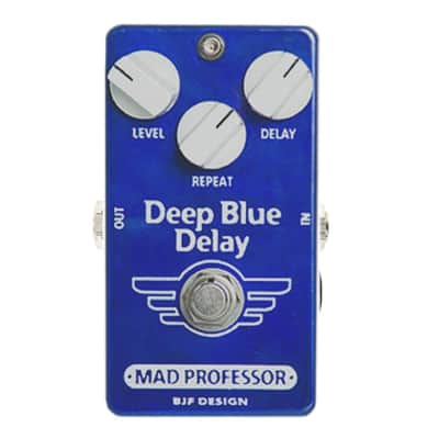 Mad Professor Deep Blue Delay Guitar Stompbox PCB Effect Pedal for sale