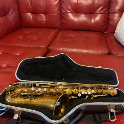 Buffet Crampon Super dynaction  1970 Gold laquer