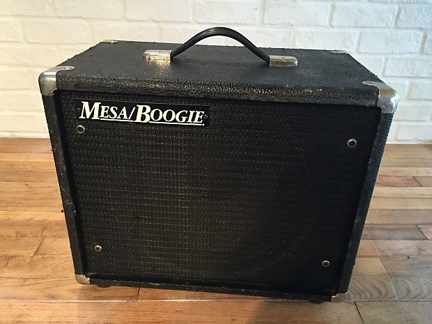 Mesa Boogie 1x12 Black Shadow speaker cabinet cab AWESOME! | Reverb