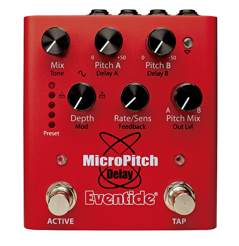 A view of the Eventide MicroPitch Delay