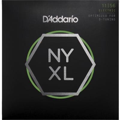 D'Addario NYXL1156 Nickel Wound Electric Strings - 11-56 Medium Top/Extra-Heavy Bottom