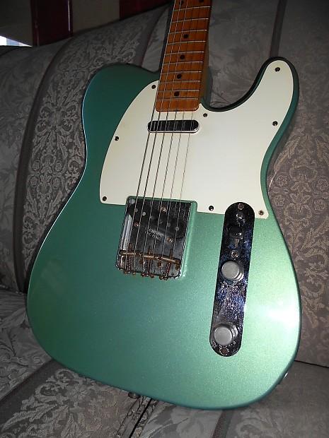 fender telecaster 1959 teal green metallic best guitars reverb. Black Bedroom Furniture Sets. Home Design Ideas