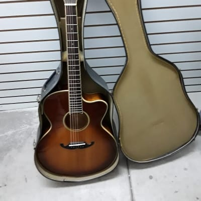 Terada Acoustic Electric 1980s Sunburst for sale