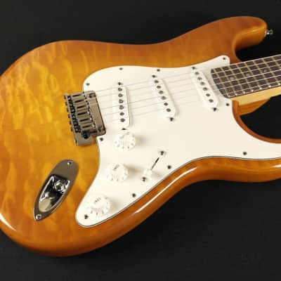 Fender Custom Shop Custom Deluxe Stratocaster ABY PICKUPS Rosewood - Faded Honey Burst 494 for sale