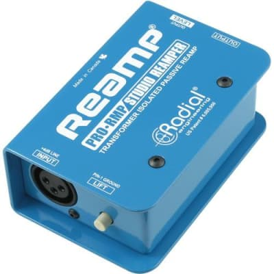 Radial Engineering ProRMP Passive Re-Amplyfing (Reamp) effects-and-pedals