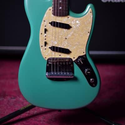 Fender USA Mustang 1978 Vintage Surf Green refinish