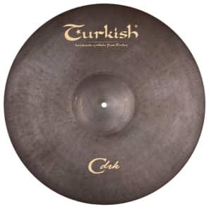 "Turkish Cymbals 20"" Classic Dark Series Classic Dark Ride CDRK-R20"