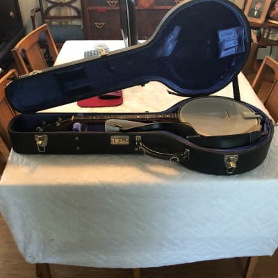 OME Banjo 4 string - violin neck 1990s Wood for sale
