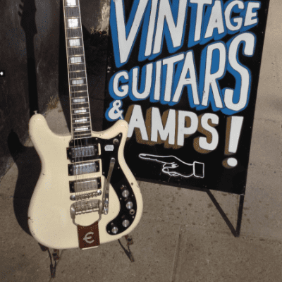 Epiphone Crestwood Deluxe  1965 Polaris White for sale
