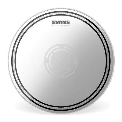 "Evans B13EC1RD EC1 Reverse Dot Snare Batter Drum Head - 13"""