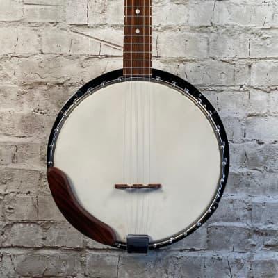 Kay Vintage 5 String Eagle Carving Banjo w/Case for sale