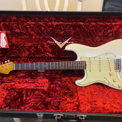 Fender custom shop 1964 Stratocaster Olympic white