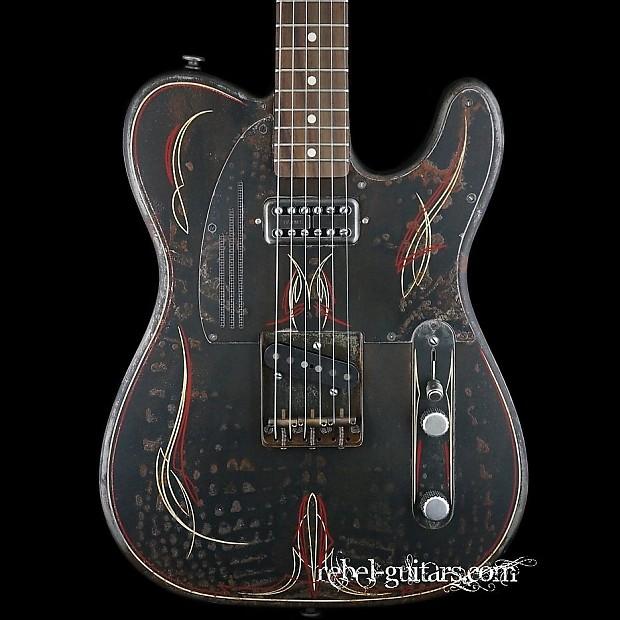 james trussart rust o matic pinstripe steelcaster tele guitar reverb. Black Bedroom Furniture Sets. Home Design Ideas