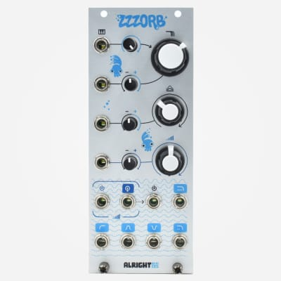 Alright Devices ZZZORB Eurorack Multimode Filter and VCA Module
