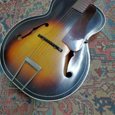 1951 Harmony Archtone H1215 Sunburst w/Geib Case for sale