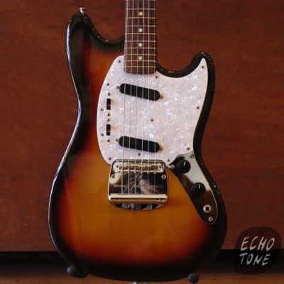 2010 Fender Mustang (Sunburst, Made In Japan) for sale